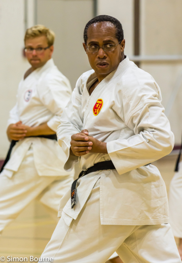 Simon Bourne, photography, photographer, north London, portfolio, image, Nikon, sport, karate, shotokan, SHOTO, event, Winchmore Hill, dojo, black belt, dan grade, kata, training