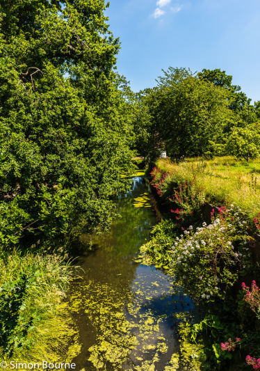 Simon Bourne, photography, photographer, north London, portfolio, image, gardens, summer, Sissinghurst, Kent, grounds, National Trust, RHS, Nikon, river, stream, water, mill, wheel, flowers, trees