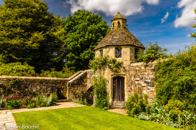 Simon Bourne, photography, photographer, north London, portfolio, image, gardens, summer, Nymans, house, grounds, flowers, tree, Messel, Nikon, Sussex, walled, stone, dovecote, steps, stairs