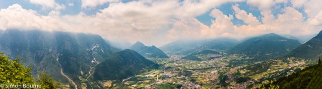 Simon Bourne, photography, photographer, north London, portfolio, image, landscape, cityscape, Monte Lefre, Italy, Nikon, Trentino, mountain, trees, alpine, Dolomites, Valsugana, panorama