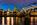 Simon Bourne, photography, photographer, north London, portfolio, image, landscape, structure, bridge, River Thames, river, dusk, sunset, Nikon, Millennium Bridge, long exposure, St Paul's Cathedral, lights, reflections, night
