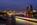 Simon Bourne, photography, photographer, north London, portfolio, image, landscape, structure, bridge, River Thames, river, dusk, Nikon, Blackfriars Bridge, long exposure, St Paul's Cathedral, boat trails, lights, night, The Shard, The City