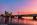 Simon Bourne, photography, photographer, north London, portfolio, image, landscape, structure, River Thames, river, dusk, Nikon, Waterloo Bridge, long exposure, London Eye, Hungerford, boats, trails, lights, orange sky, orange sunset