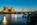 Simon Bourne, photography, photographer, north London, portfolio, image, landscape, structure, River Thames, river, dusk, sunset, Nikon, Hungerford Bridge, long exposure, London Eye, Golden Jubilee, lights, evening, golden glow, reflections