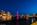 Simon Bourne, photography, photographer, north London, portfolio, image, landscape, structure, River Thames, river, dusk, sunset, Nikon, Hungerford Bridge, long exposure, London Eye, Golden Jubilee, boats, trails, lights, night, reflections